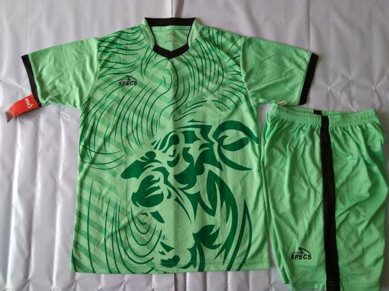Setelan Futsal Specs Macan Hijau tosca