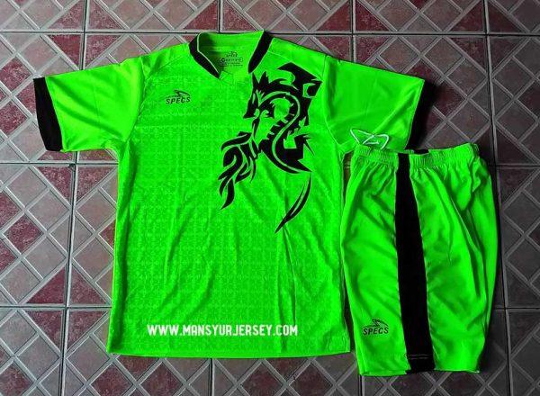 Setelan Futsal Specs Naga Hijau Stabillow