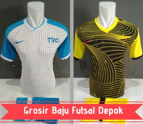 grosir baju futsal Depok