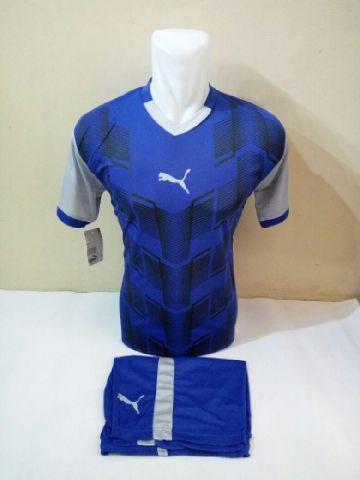 Setelan Futsal Puma Transformer Biru