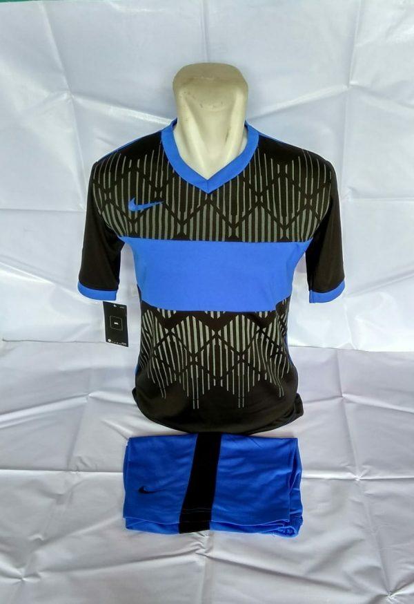 Setelan futsal Nike Wajik Hitam Biru